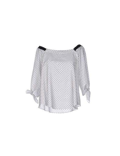 Suoli | Женская Белая Блузка