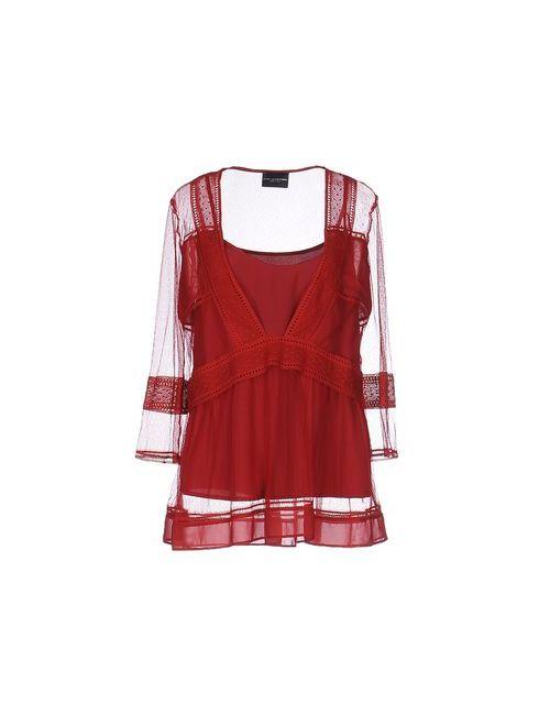 ATOS LOMBARDINI | Женская Красная Блузка