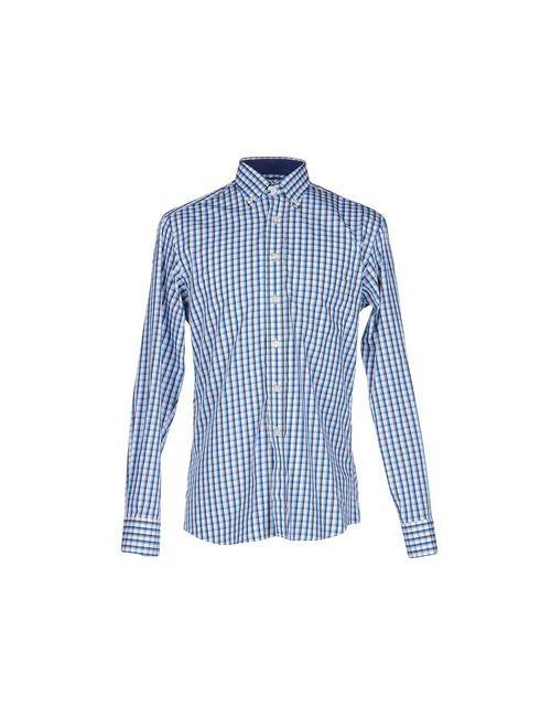 Mirto | Мужская Лазурная Pубашка