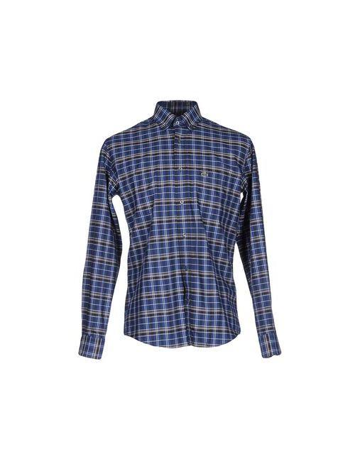 Lacoste | Мужская Синяя Pубашка