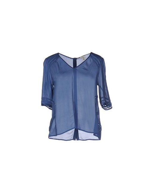 INTROPIA | Женская Синяя Блузка