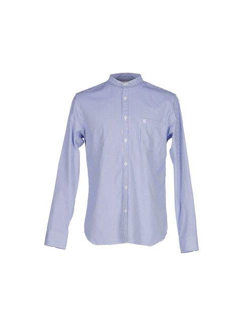Selected Homme   Мужская Синяя Pубашка