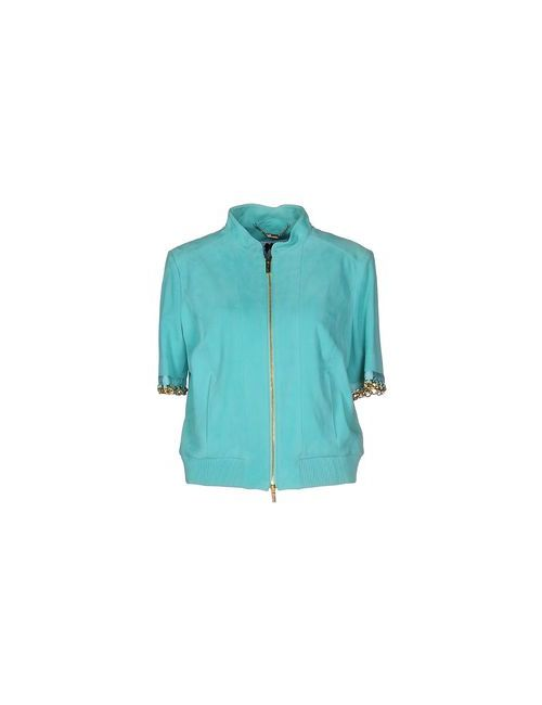 Blumarine | Мужская Бирюзовая Куртка