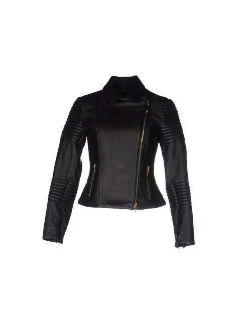 Class Roberto Cavalli   Мужская Чёрная Куртка
