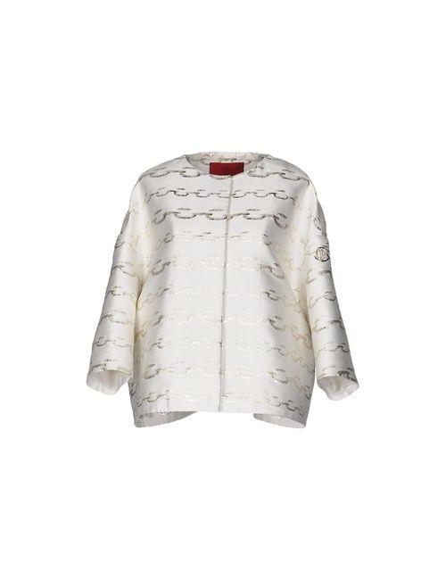 Moncler Gamme Rouge | Мужская Белая Куртка