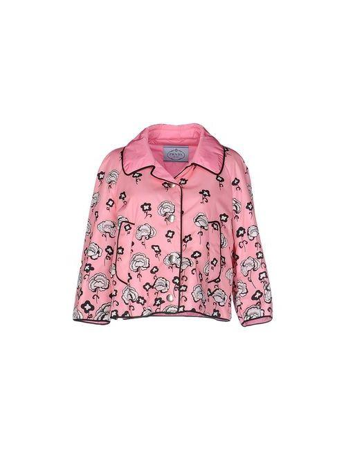 Prada | Мужская Розовая Куртка
