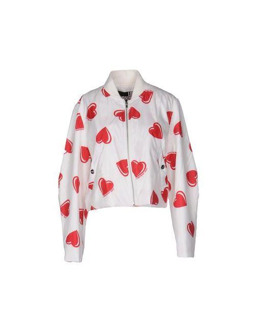 Love Moschino | Мужская Белая Куртка