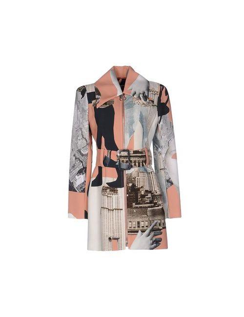 Carven | Мужское Розовое Легкое Пальто