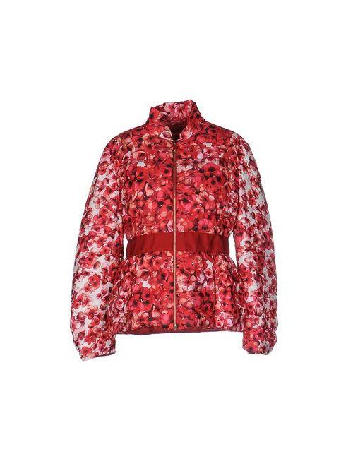 Moncler Gamme Rouge | Женский Красный Пуховик