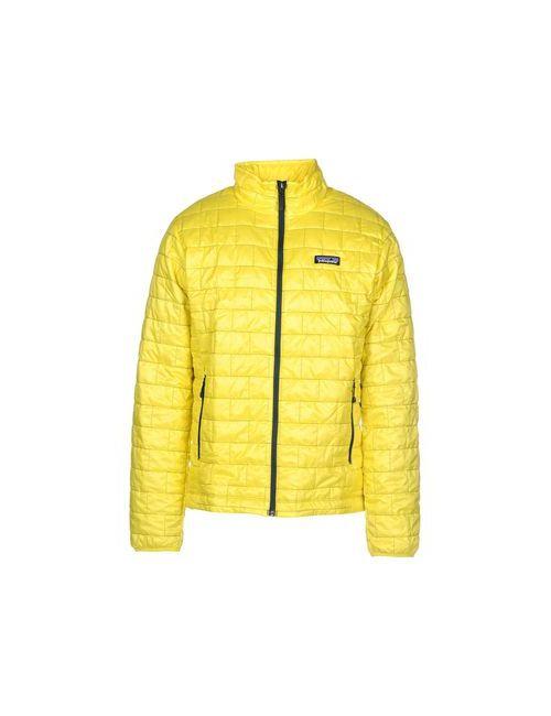 Patagonia   Мужская Жёлтая Куртка