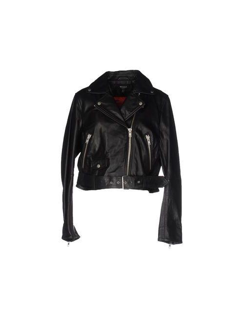 Muubaa   Мужская Чёрная Куртка
