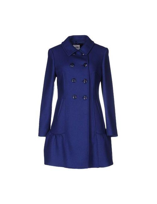 Moschino Cheap and Chic | Мужское Синее Пальто