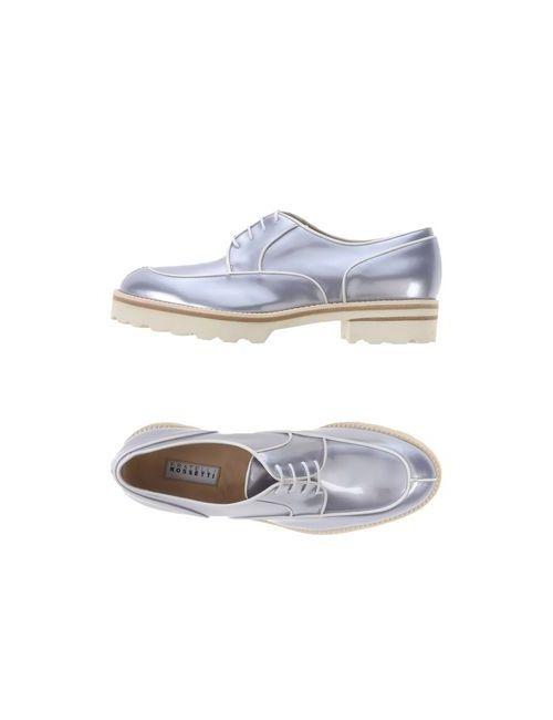 Fratelli Rossetti | Мужская Серая Обувь На Шнурках