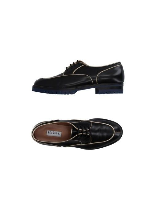 Fratelli Rossetti | Мужская Черный Обувь На Шнурках