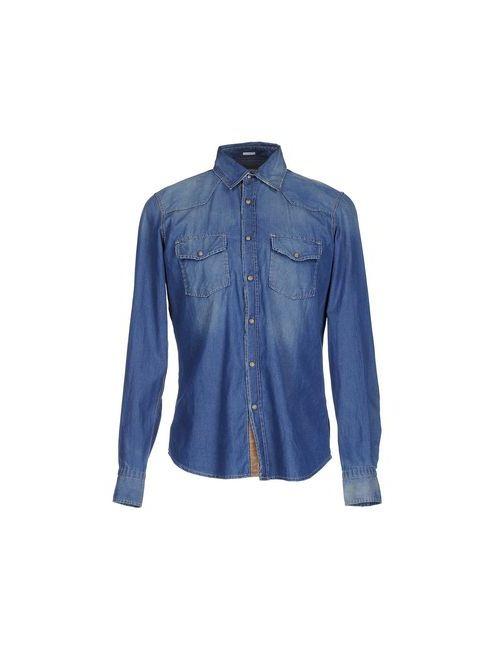 I SARTI | Мужская Синяя Джинсовая Рубашка