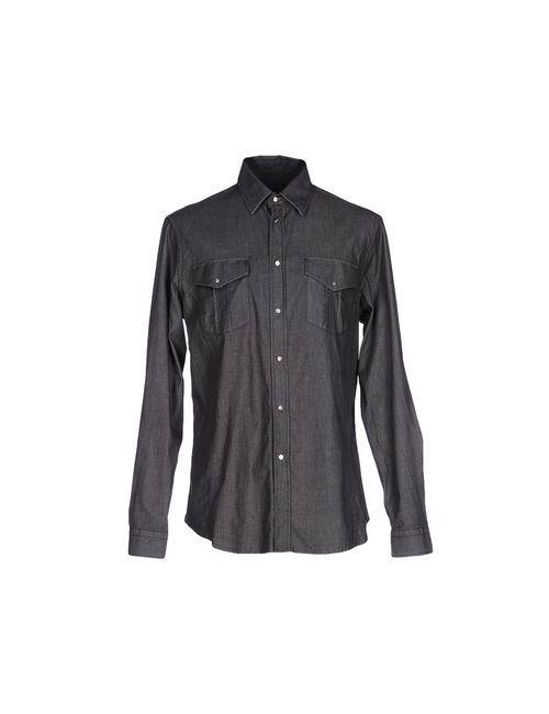 Class Roberto Cavalli | Мужская Черный Джинсовая Рубашка