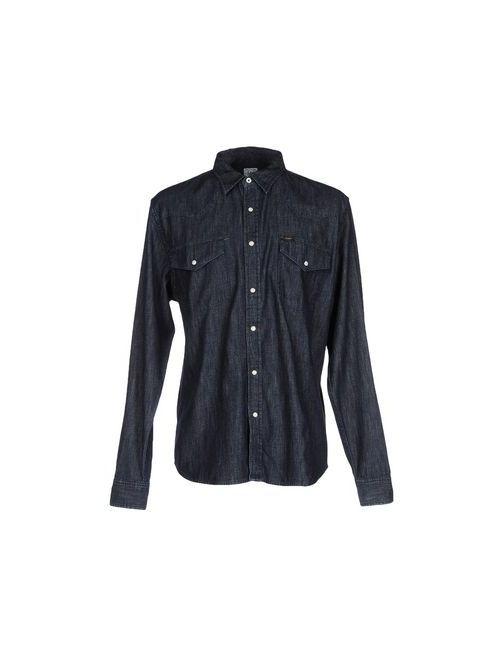 Lee | Мужская Синяя Джинсовая Рубашка