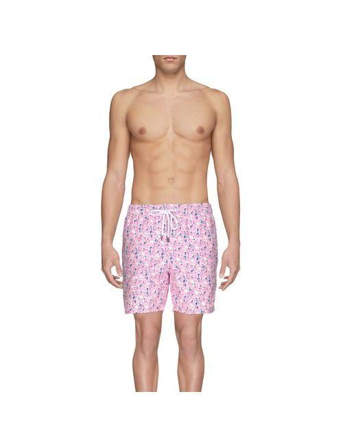 BARBA NAPOLI | Мужские Розовые Шорты Для Плавания