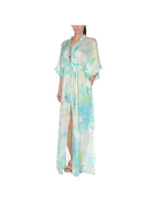 Roberto Cavalli Beachwear | Женское Голубое Пляжное Платье