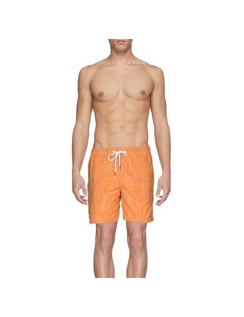 BARBA NAPOLI | Мужские Оранжевые Шорты Для Плавания