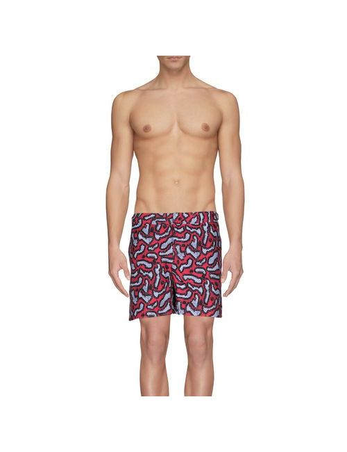 Orlebar Brown | Мужские Фиолетовые Шорты Для Плавания