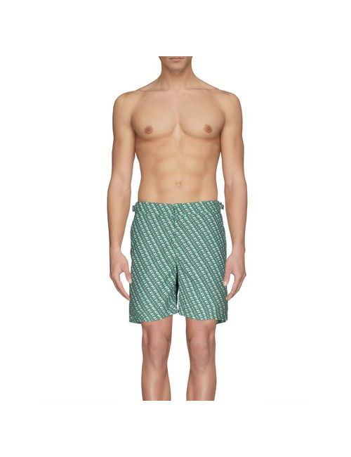 Orlebar Brown   Мужские Зелёные Шорты Для Плавания