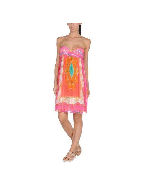 Vdp Beach | Женское Фуксия Пляжное Платье