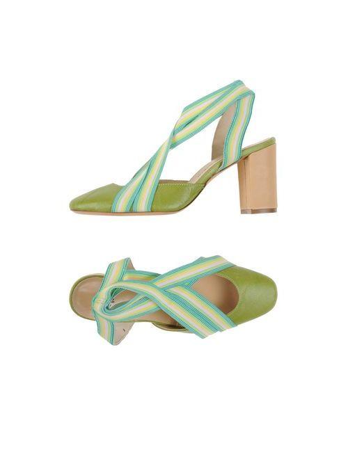 Maliparmi | Женские Зелёные Туфли