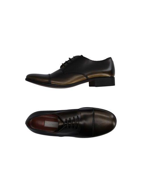 L' Autre Chose | Мужская Зелёная Обувь На Шнурках