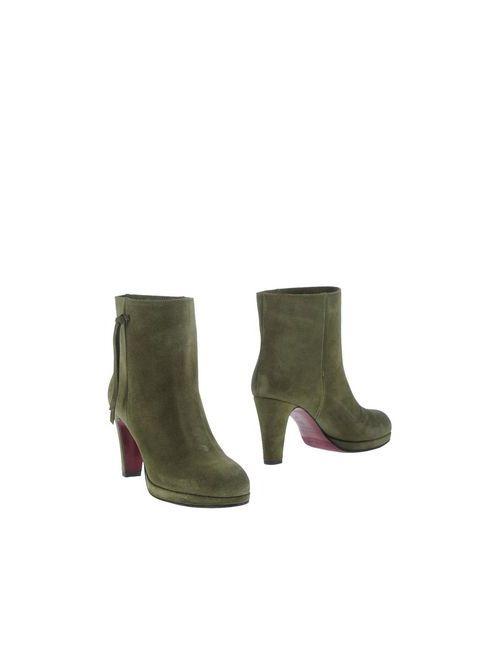 L' Autre Chose | Женские Зелёные Полусапоги И Высокие Ботинки