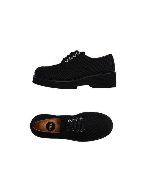 RAS | Мужская Чёрная Обувь На Шнурках