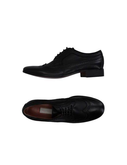 L' Autre Chose | Мужская Черный Обувь На Шнурках