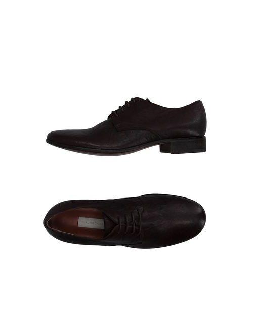L' Autre Chose | Мужская Коричневая Обувь На Шнурках