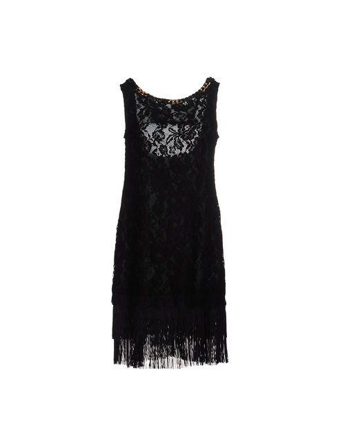 Mangano | Женское Черный Короткое Платье