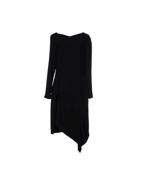 Roland Mouret | Женское Чёрное Короткое Платье