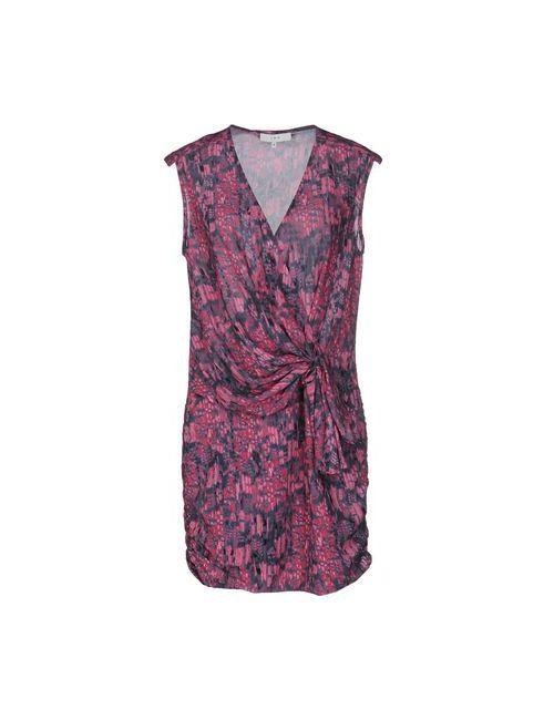 Iro | Женское Фиолетовое Короткое Платье