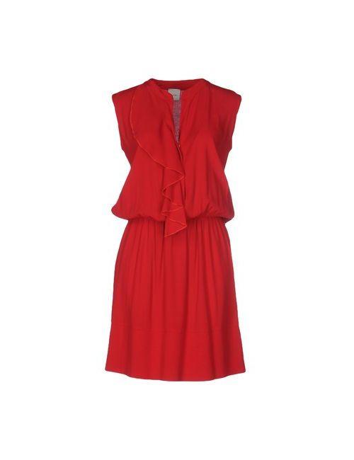 ...À_La_Fois... | Женское Красное Короткое Платье