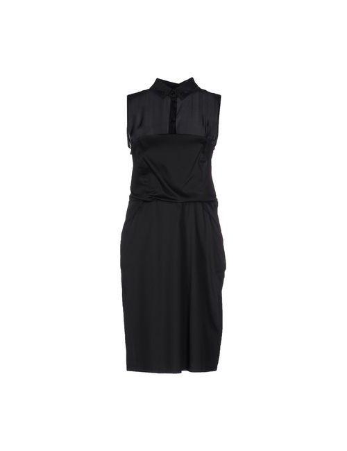 Liu •Jo | Женское Чёрное Платье До Колена