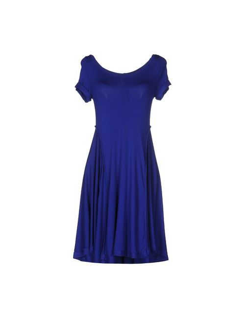 Le Coeur De Twin-Set Simona Barbieri | Женское Синее Короткое Платье