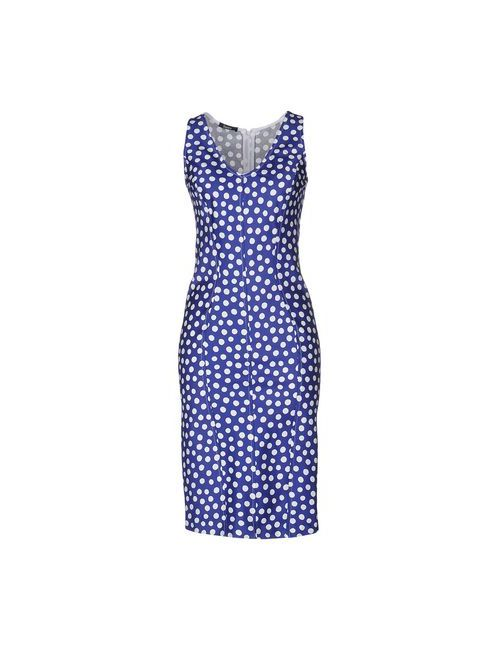 Hanita | Женское Синее Платье До Колена