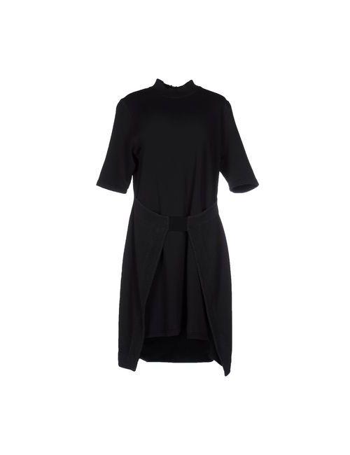 Silent Damir Doma | Женское Чёрное Короткое Платье