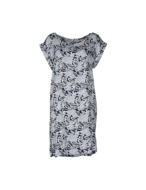Minimum | Женское Синее Короткое Платье