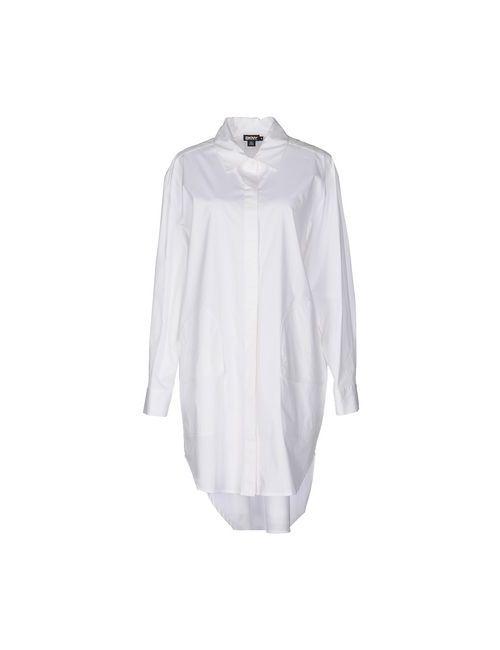 DKNY | Женское Белое Короткое Платье