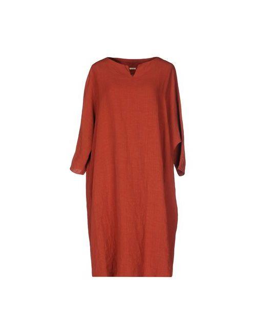 A.B  APUNTOB | Женское Коричневое Короткое Платье