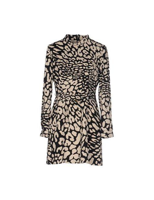 ALBERTA ANTICOLI | Женское Бежевое Короткое Платье