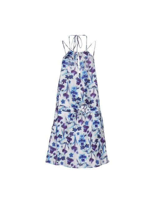 Maggie | Женское Фиолетовое Платье До Колена