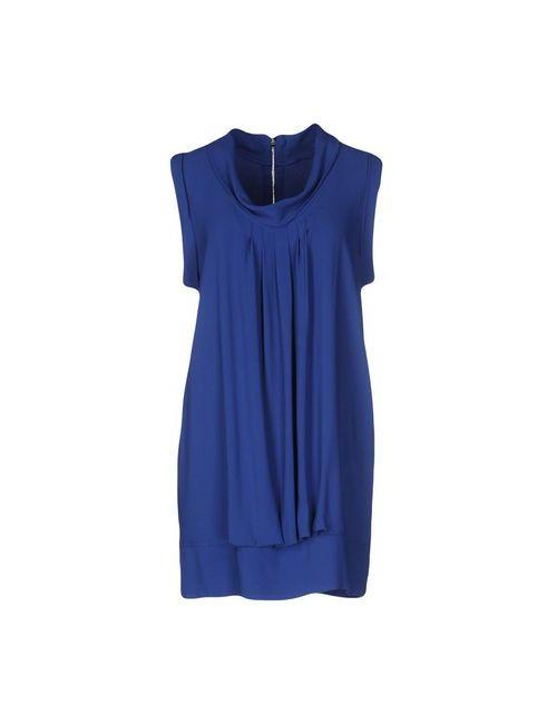 Brian Dales | Женское Синее Короткое Платье