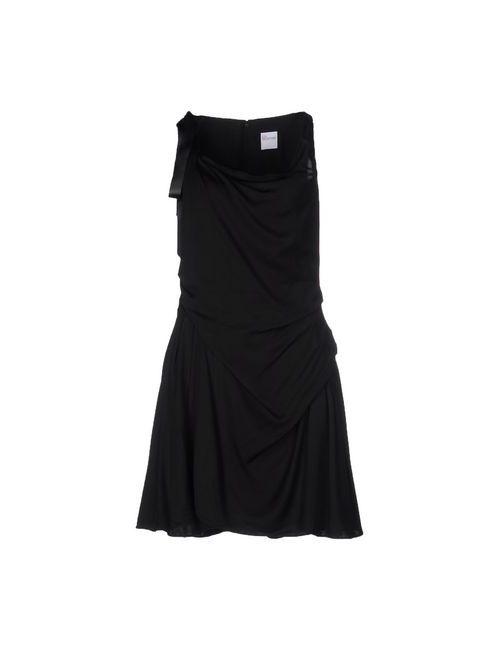 Red Valentino | Женское Чёрный Короткое Платье