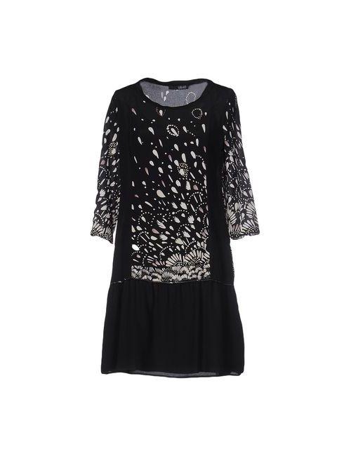 Liu •Jo   Женское Чёрное Короткое Платье