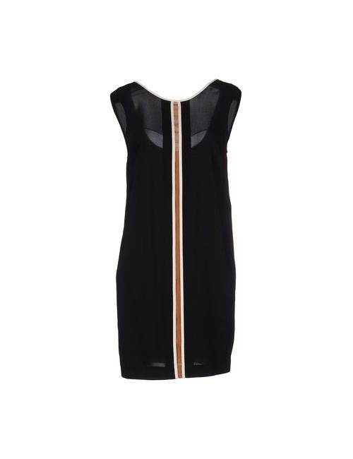 Suoli | Женское Чёрное Короткое Платье